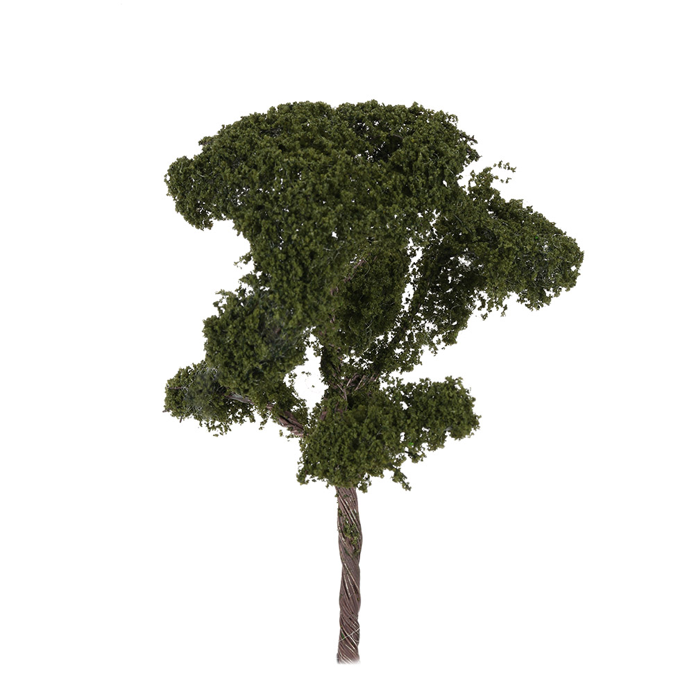3.54 Inch Tree Model 1:150 Architectural Model Railroad Layout Landscape Scenery Diorama Miniatures Model Accessory Kids Toys(China (Mainland))