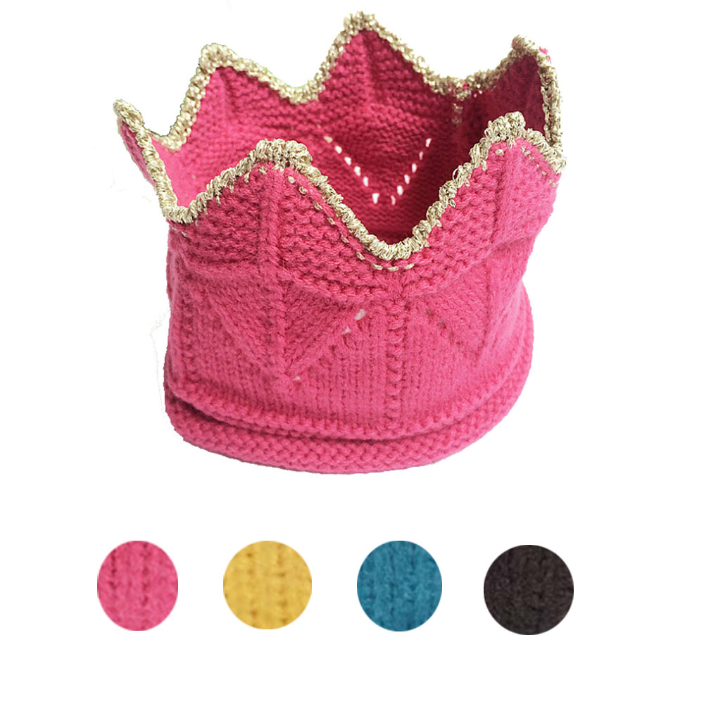 2016 new fashion head bands for unisex baby cute solid crown hair accessories acessorios diademas pelo bandeau cheveux vee mall(China (Mainland))
