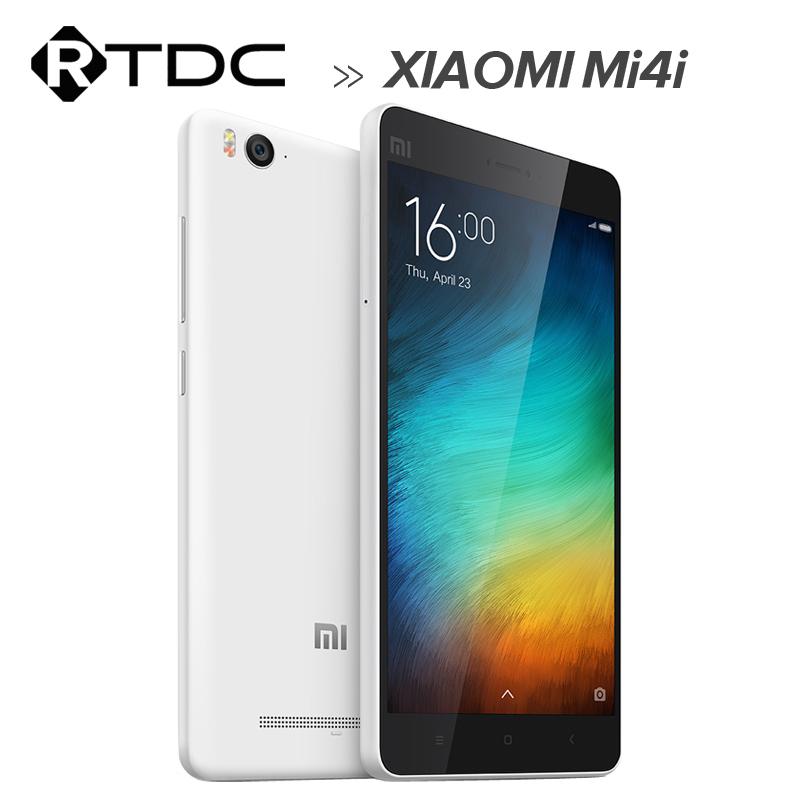 "Original Xiaomi Mi4i Mi 4i 4G LTE Dual SIM Mobile Phone 5.0"" 1920x1080 Snapdragon615 Octa Core 2GB RAM 13MP Android 5.0 Lollipop(China (Mainland))"