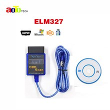 Super mini elm 327 Auto code reader OBD SCAN car diagnostic tool interface ELM327 USB interface V2.1 version free shipping