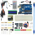 Starter Kit For UNO R3 Upgraded Version arduino basic kit LCD 1602 Breadboard mega 2560 DIY