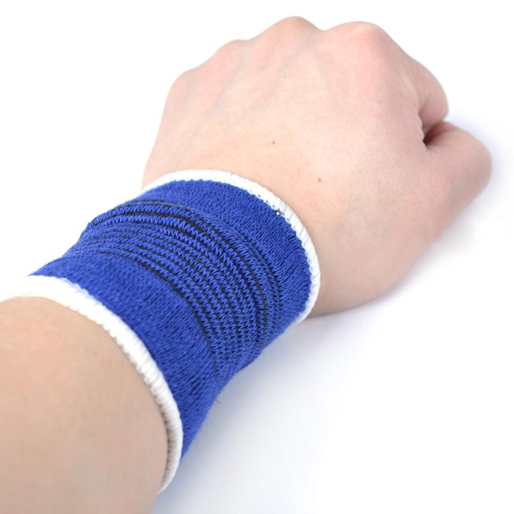 2pcs blue Wristband Wrist Brace Wrist Support Splint Fractures Carpal Tunnel Palm support Sport Sprain Mouse Hand Wristbands(China (Mainland))