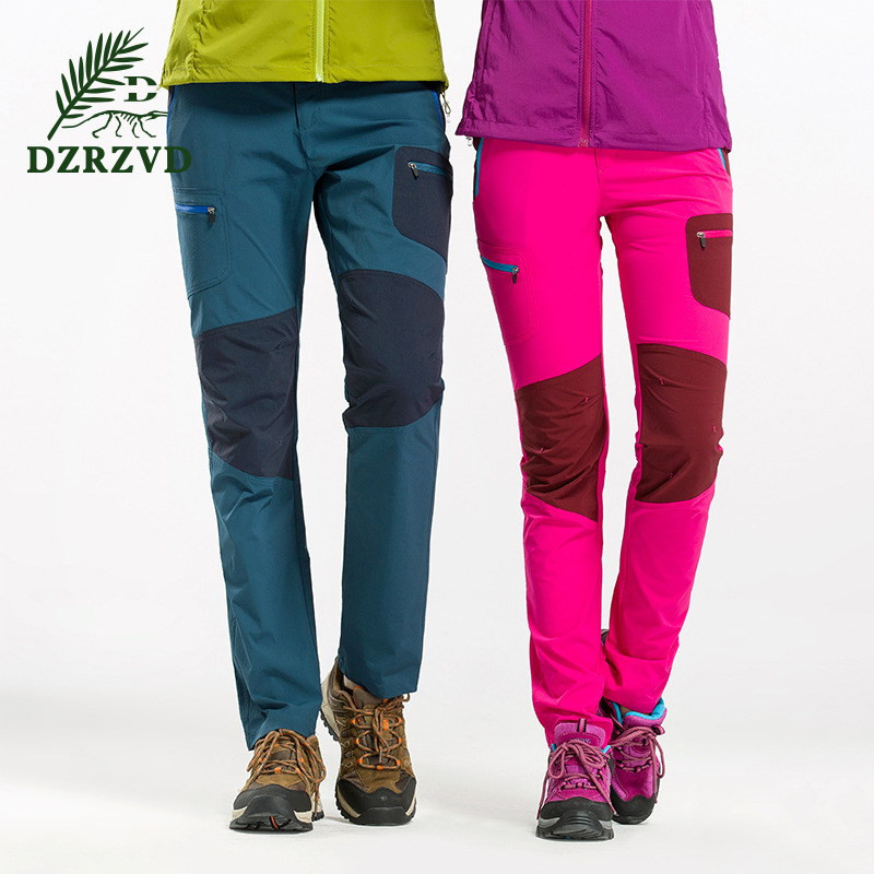Women Camping Hiking Outdoor Sport Pants Waterproof Fleece Windproof Fishing Mountain Climbing pantalones - Lifes store