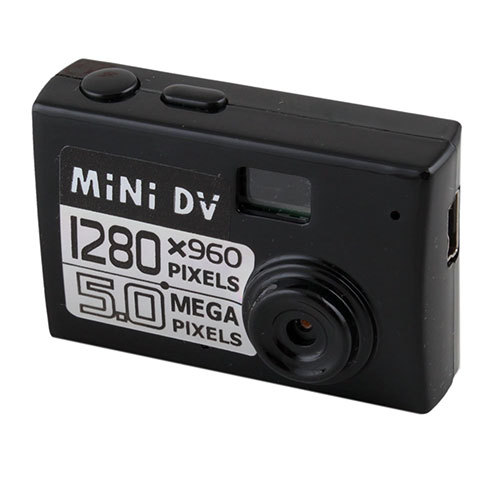 5MP HD Smallest Mini DV Digital Camera Video Recorder Camcorder Webcam DVR #30236(China (Mainland))