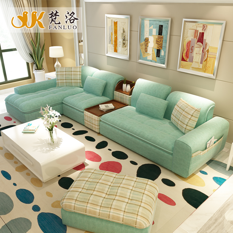 Corner couch design promotion shop for promotional corner for Muebles de sala en l modernos