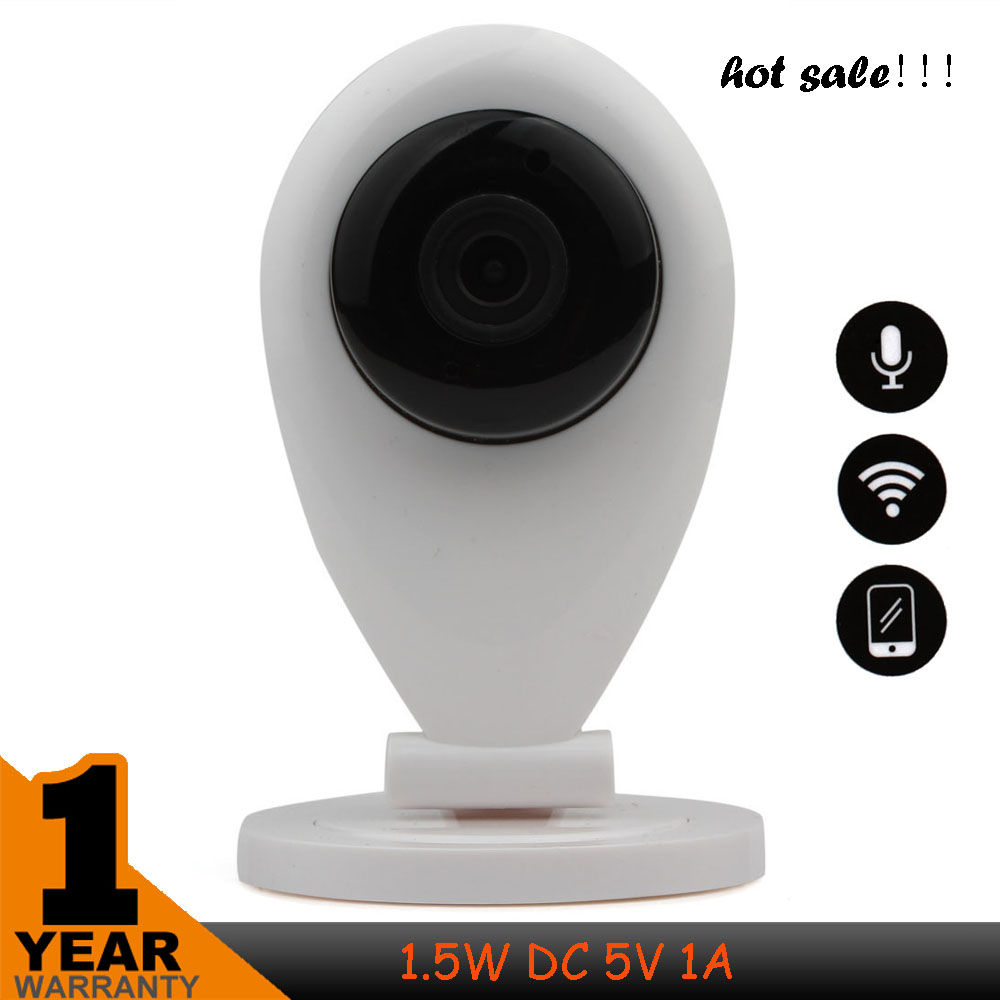 Jooan Mini Wireless Rotatable 720P WIFI Video Monitor HD IP Camera Support with Two Way Audio & Motion Detection for Home Use(China (Mainland))