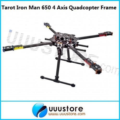 Tarot Iron Man 650 Carbon Fiber 4 Axis Aircraft Fully Folding FPV Quadcopter Frame Kit TL65B01 Free shiping