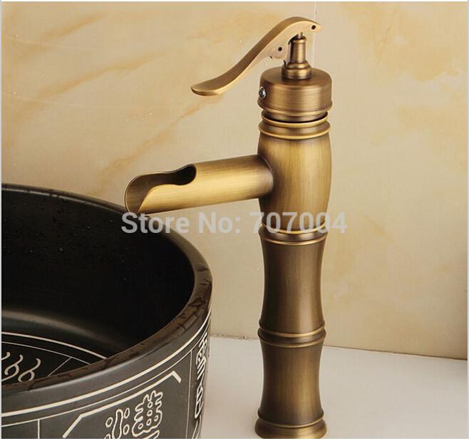Здесь можно купить  Euro Antique Heighten Shampoo Basin Faucet Countertop Brass Bathroom Mixer Tap Euro Antique Heighten Shampoo Basin Faucet Countertop Brass Bathroom Mixer Tap Дом и Сад