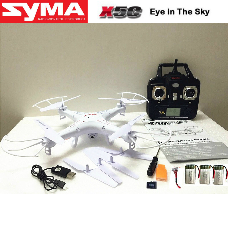 Syma x5c-1 Upgrade Version Drone Syma X5C Professional Drones with Camera HD Dron Rc Helicopter Drons Quad Copter Vs X8 X8C(China (Mainland))