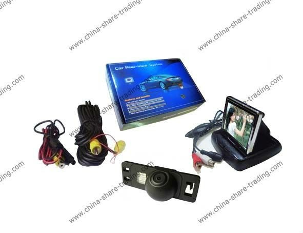 Free Shipping Rearview Camera for CITROEN C-Quatre/Triumph/C4 Reverse Camera Kit 3.5 inch LCD TFT Rearview Monitor SS-662