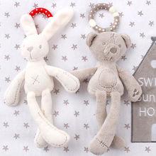 Hot Sales New Cute Bunny Soft Plush Toys Rabbit Stuffed Animal Baby Kids Gift Animals Doll(China (Mainland))
