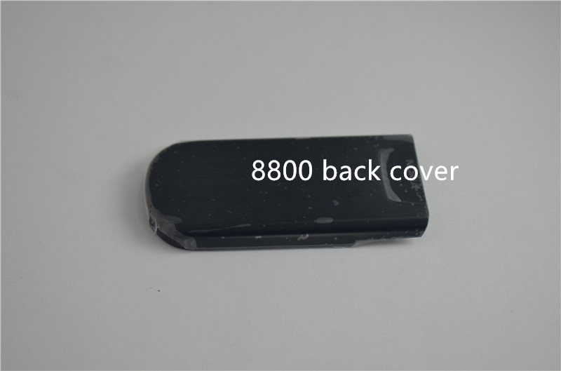 Hot sale For Nokia 8800 New Housing Cover Case Drop-down Cover black edition replacement for Nokia 8800 Free Shipping(China (Mainland))