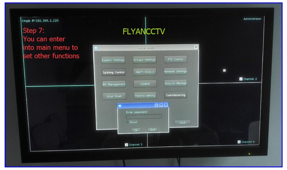 Ip декодер 3 D контроллер клавиатуры 2 цифровое управление клавиатурой 9 экран NVS 15