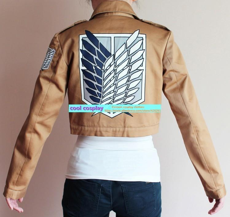 Attack on Titan cosplay Shingeki no Kyojin Attack on Titan Scouting Legion Cosplay Costume Jacket Attack on Titan