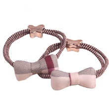 Buy Women Hair Rope fashion Children Elastic HairBands Rubber Girls Headwear gril Hair Accessories Bowknot Scrunchy for $1.37 in AliExpress store