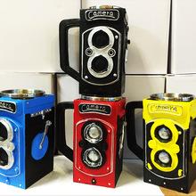 Camera Lens Shape Cup Coffee Tea Travel Mug Stainless Steel Vacuum Flasks worldwide store Coffee Mug Brick Drink Tea Cup(China (Mainland))