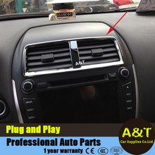 A&T car styling Mitsubishi ASX 2013-2016 model Air outlet central control air conditioner abs cover decorative frame 1 pc - China Ws-Light Automotive Store store