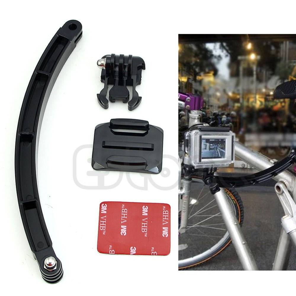 Free Shipping Helmet Extension Arm Mount High Quality Kit For Gopro Hero3 Accessory Motorcross(China (Mainland))