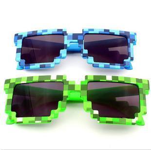 Подходит для взрослых и детей женщин мужчины зеленый и синий мозаики солнцезащитные ...