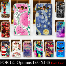 Buy LG Optimus L60 X145 CASE Hard Plastic Mobile Phone Cover Case DIY Color Paitn Cellphone Bag Shell Free for $1.46 in AliExpress store