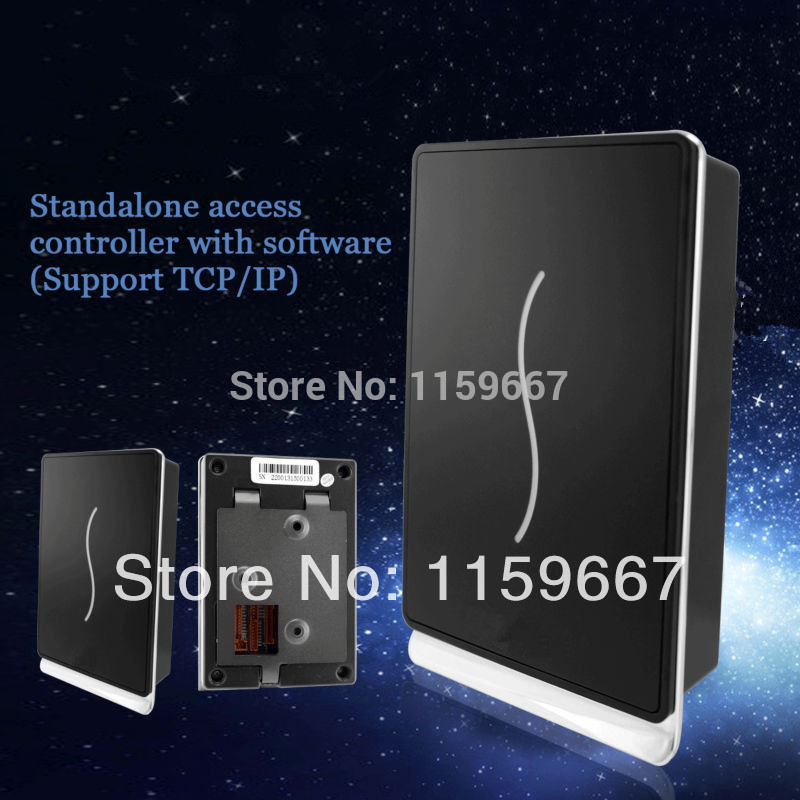 RFID Door Access Controller 125Khz EM Card Home Security Door Entry SystemFree Software Offered(China (Mainland))
