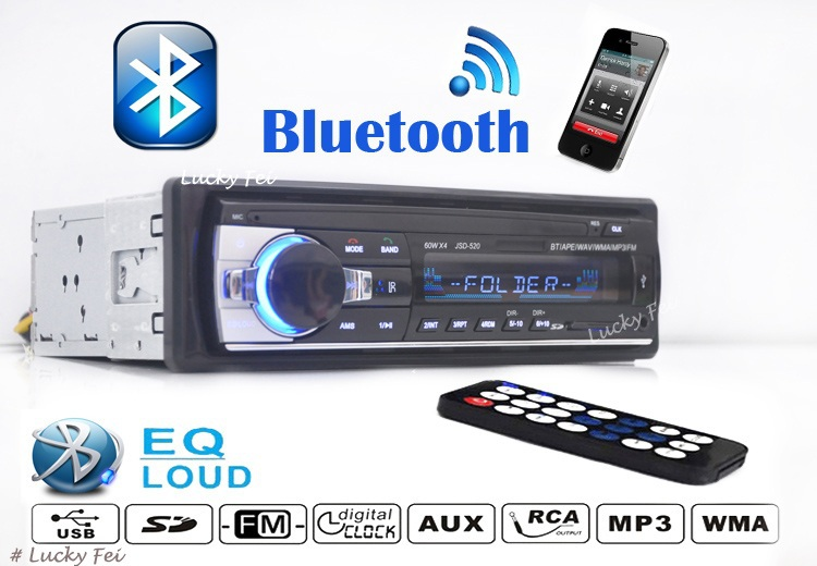 2014 newest Car Stereo MP3 Player 12V Car Audio FM radio USB SD MMC Remote Control