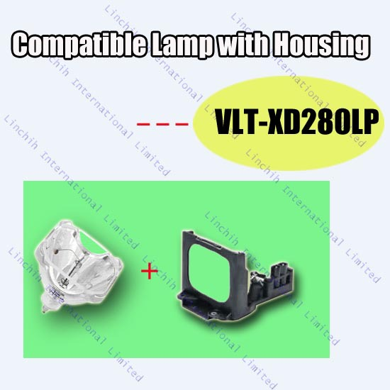 Projector bulb VLT-XD280LP for Mitsubishi GS-320 ; XD250U ; XD250UG ; XD250U-ST ; XD280U ; XD280UG / compatible projector lamp<br><br>Aliexpress