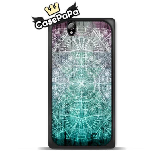 Sea Mint Mandala Classic Case For Sony Xperia Z4 Z3 Z2 Z1 compact Z SP M4 M2 C3 T3 T2 For LG G4 G3 G2 L90 L70 For Nexus 6 5 4(China (Mainland))