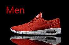 New Women Men's SB Stefan Janoski Max Mesh Shoes Woman Casual Walking Shoes 36-45 Top Quality(China (Mainland))