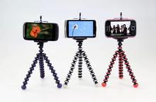 Mini Flexible Octopus Tripod Holder Stand Phone Holder With Bracket for Digital Camera Chrismas Gfit size s