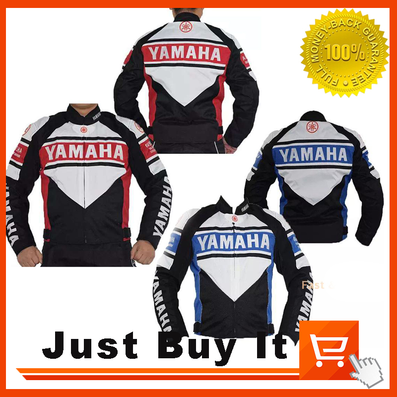 New Arrivals Waterproof Oxford Red / Blue Cotton Motorcycle Racing Men Jackets For Yamaha Waterproof Jacket With Protective Gear<br><br>Aliexpress