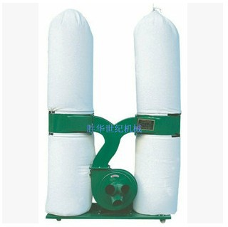 3kw Double bags fabric dust collector,double-keg dust collector(China (Mainland))