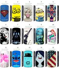 tiger Minions batman star wars 15designs new arrival hybird retail white hard cover cases for Lenovo A60 free shipping