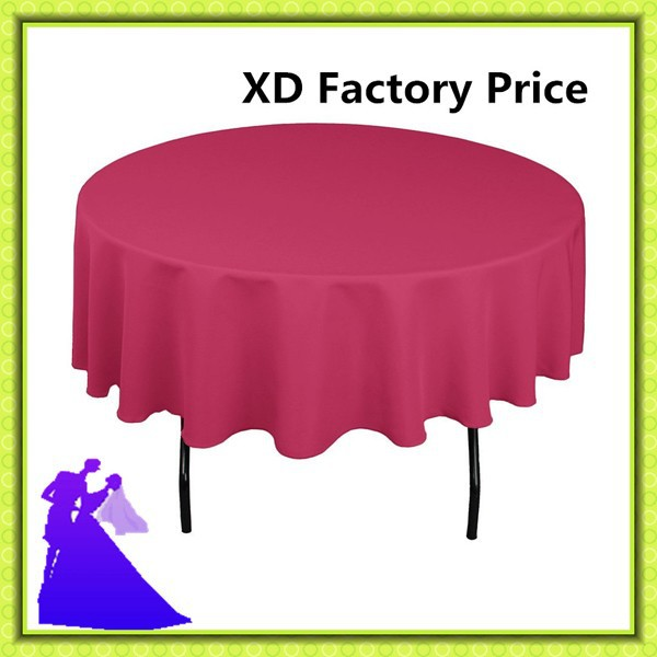 Big Discount !!!! polyester Beautiful Wedding Table Cloth / Hotel Tablecloth / Event Table Cloth FREE SHIPPING(China (Mainland))