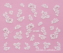 XF 3D nail stickers nail sticker nail art stickers nail accessories nail art wholesale XF095