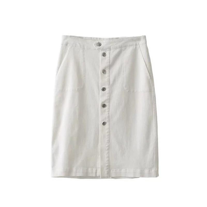 High Quality White Denim Mini Skirt-Buy Cheap White Denim Mini ...