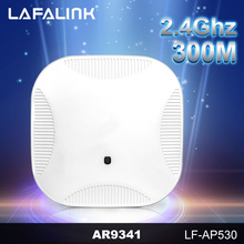 High power 802.3af Power Supply 300Mbps Ceiling Mount Wireless Wifi  POE Access Point