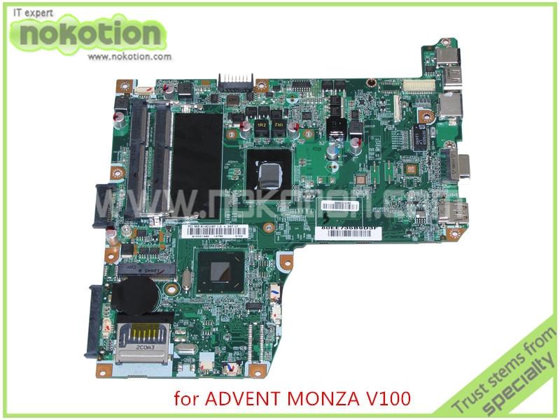Фотография laptop motherboard for ADVENT MONZA T100 T200 V100 V200 71R-C14CU6-T810 SR08N Processor 847 NM70 DDR3