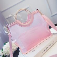 2016, лето, новый модные сумки желе мешок прозрачный пакет тенденция сумка сумка женщины прекрасные сумки
