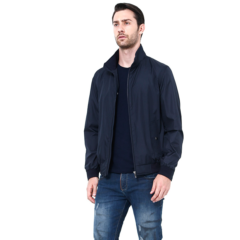 Men's Jacket Spring Autumn Fashion Overcoat 2016 New Arrival Turn Down Collar Slim Casual Style Plus Size Men Outwear(China (Mainland))