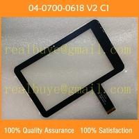 gt706-v3 7-дюймовый емкостный сенсорный экран планшета стекла для tablet pc середине ремонта