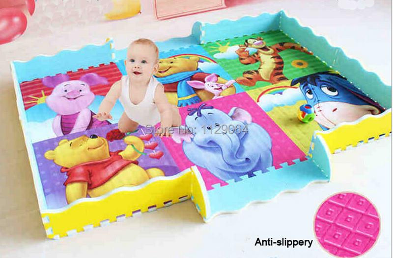 Compra acolchada alfombra del piso del beb online al por - Alfombra suelo bebe ...