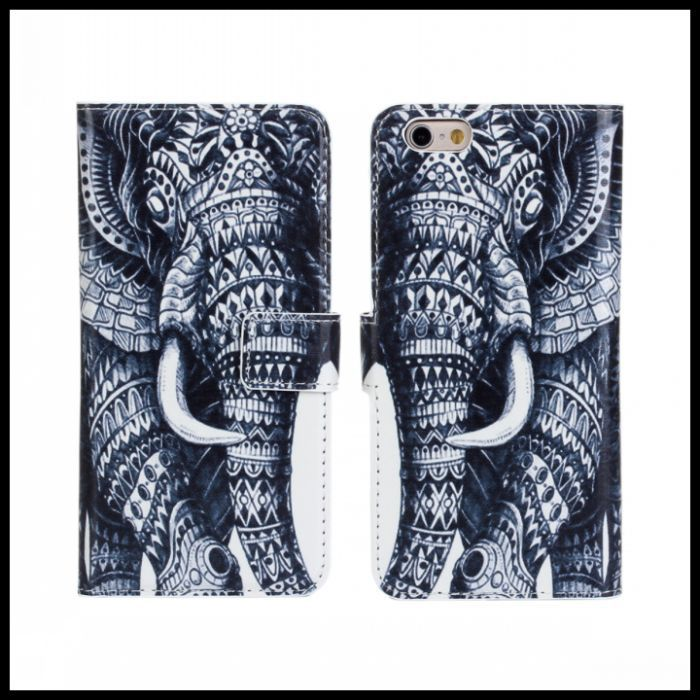 For iPhone 6s Cases Carton Print Stand Wallet Leather Cover for iPhone 6 Case 4.7 inch Mobile Phone Bags for iphone 6s Cases(China (Mainland))