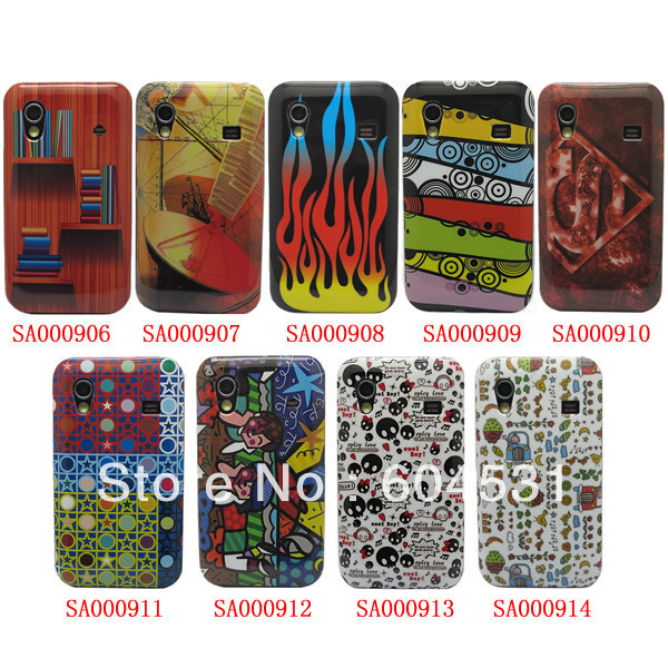 For Samsung Galaxy ACE S5830 Case Cover, Abstract Art Retro View Back Cover Hard Case 100 pcs/lot Free shipping