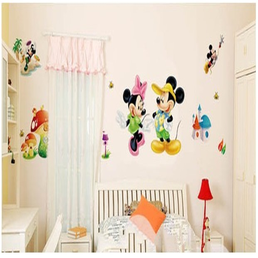Online buy wholesale house mickey mouse from china house mickey mouse wholesalers - Mini mouse bedroom ...