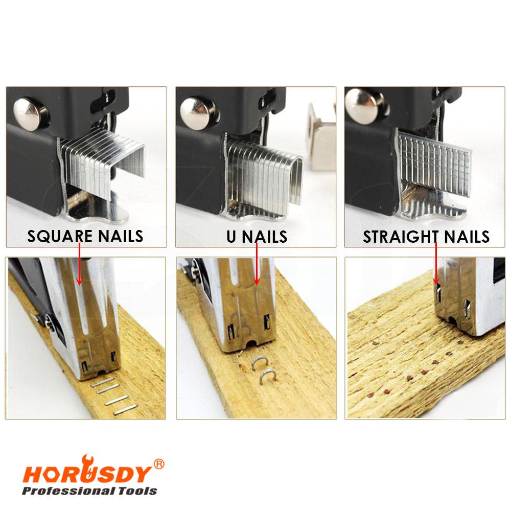 multi tool hand tool nail gun decorative staple hand nail gun furniture stapler for wood door