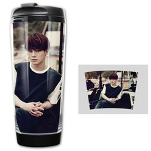 NEW EXO CHEN exo Double Insulation Coffee Tea Cup Bottle MUGS Morning Tea Cups 5 styles free shipping