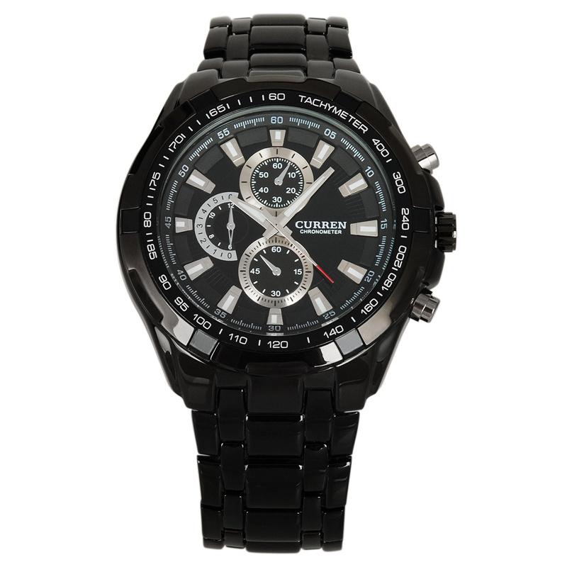 Гаджет  2014 New Curren Watch Men Luxury Brand Watch Fashion Quatz Watch Full Steel Wristwatch 5 Color Free Shipping None Часы