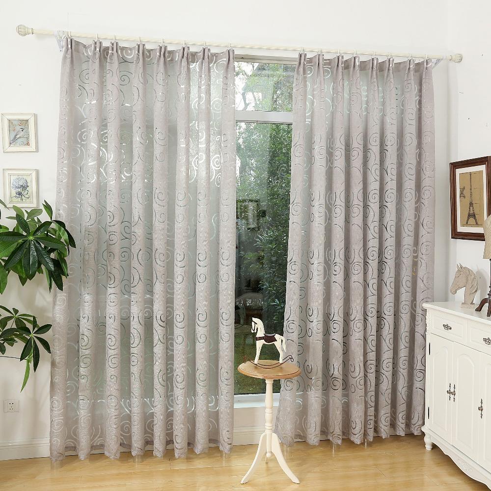 Tenda moderna soggiorno: stile soggiorno strisce linee tende di ...