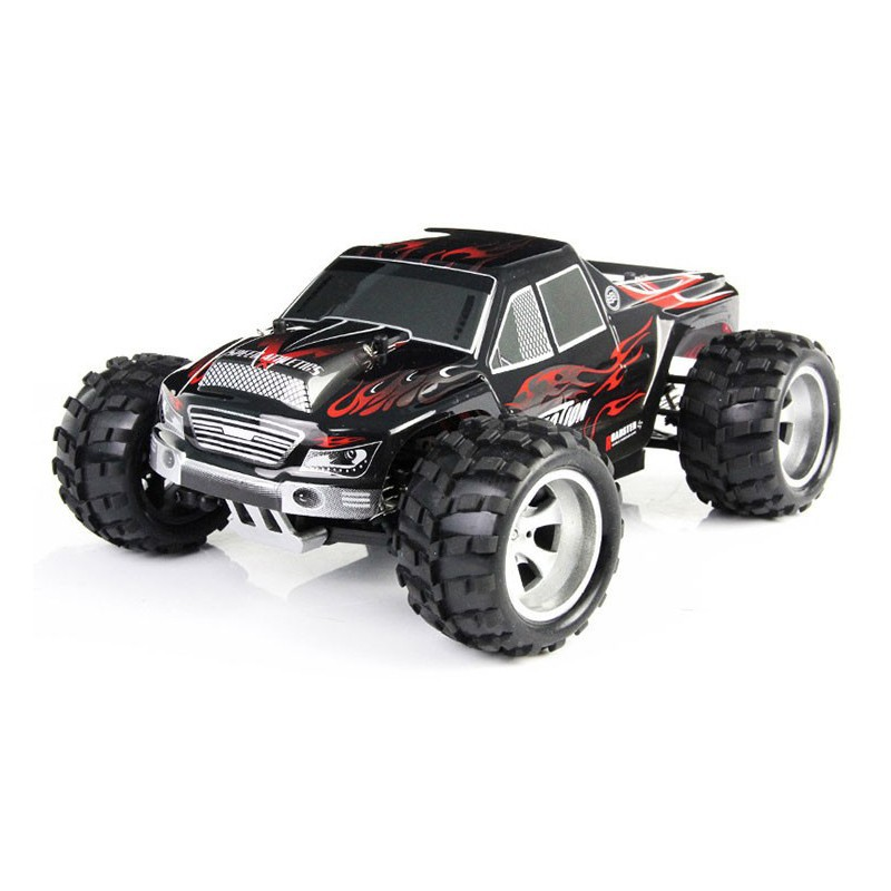 Unique Field + WLtoys A979 RC Automotive 1:18 Full Scale Distant Management Automotive RC Monster Truck 4WD with Shock System 50KM/H (In inventory)